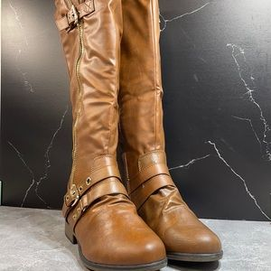Forever Chapter-16 Riding boot Brown Size 9m